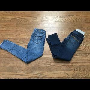 Justice jeans bundle size 10.